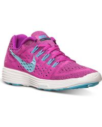 Nike Women'S Lunartempo Running Sneakers From Finish Line - Lyst