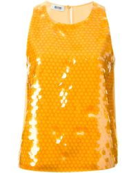 Moschino Cheap & Chic Sequinned Top - Lyst