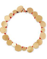 Katerina Makriyianni - Gold-plated Bracelet - Lyst