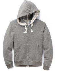Garbstore Full Zip Hoodie gray - Lyst
