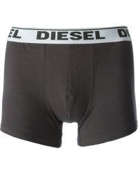 Diesel Logo Band Briefs  Three Pack - Lyst