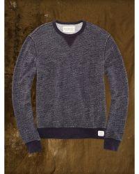 Denim & Supply Ralph Lauren Heathered Cotton Sweatshirt - Lyst