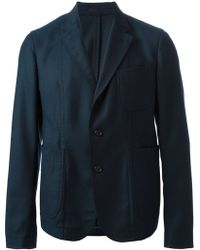 Alexander McQueen Three Button Blazer - Lyst