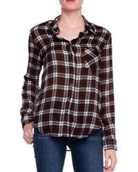 Charles Henry Flannel Work Shirt - Lyst