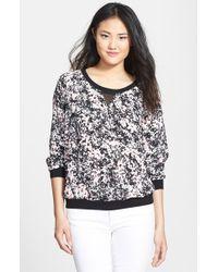 NYDJ | Secret Garden Floral Sweatshirt | Lyst