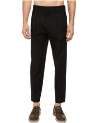 McQ by Alexander McQueen Pleated Traveller Chino - Lyst