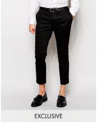 Féraud Formal Trousers In Slim Fit - Black