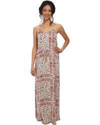 Chaser Strappy Back Maxi Dress - Lyst