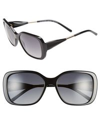 Burberry 'Trench Knot' Square Sunglasses black - Lyst