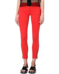 Sandro Papaye Zippered Jeans - Lyst