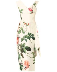Vivienne Westwood Gold Label Prestige Floralprint Silk Satin Dress - Lyst