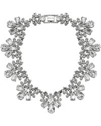 Mews London - Crystal Collar Necklace - Lyst
