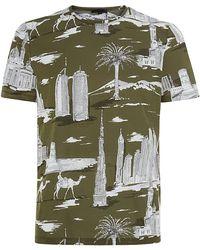 Burberry Prorsum Dubai Landmarks Tshirt - Lyst