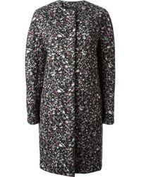 Proenza Schouler Boxy Flecked Overcoat - Lyst