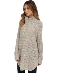 Free People Dylan Tweedy Pullover Sweater - Lyst