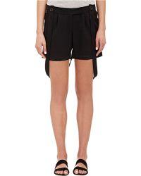 Barneys New York - Jiggy Suspender Shorts - Lyst