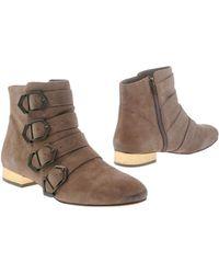 Sam Edelman Ankle Boots brown - Lyst