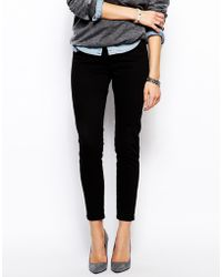 Asos Ankle Grazer Stretch Skinny Trousers - Lyst