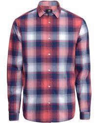 H&M Cotton Shirt Regular Fit - Lyst