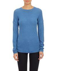 Derek Lam Lightweight Thermal Sweater - Lyst