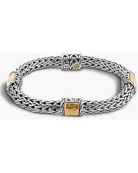 John Hardy 'Palu' Station Bracelet silver - Lyst
