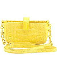 Nancy Gonzalez Crocodile Phone Crossbody Bag - Lyst