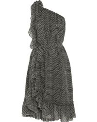 Isabel Marant Aiden Printed Silkcrepe Dress - Lyst