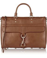 Rebecca Minkoff Palo Alto Leather Briefcase - Lyst