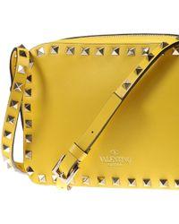 Valentino Handbag Woman yellow - Lyst