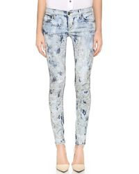 True Religion Casey Low Rise Super Skinny Jeans - If by Morning - Lyst