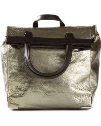 Alexander Wang Foil Backpack - Lyst