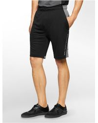 Calvin Klein | White Label Performance Colorblock Trainer Shorts | Lyst