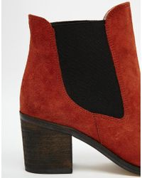 Ganni Fillippa Boot with Contrast Panel - Lyst