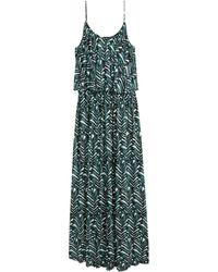 H&M + Maxi Dress - Lyst