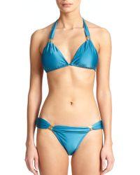 ViX Bia Tube Bikini Top blue - Lyst