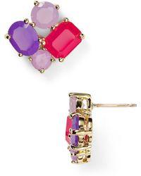 Kate Spade Cluster Stud Earrings - Lyst
