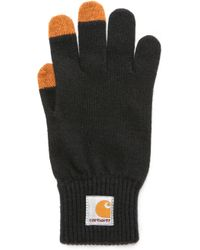 Carhartt WIP Touch Screen Gloves - Black