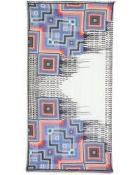 Cynthia Vincent Graffiti Drip Scarf - Multicolor