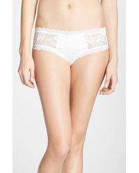 Hanky Panky 'Lady Catherine' Cheeky Hipster Briefs - Lyst