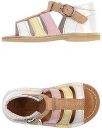 Kickers Multicolor Sandals - Lyst