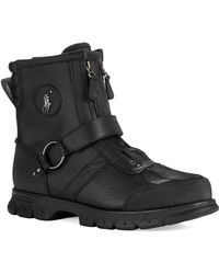 Polo Ralph Lauren Conquest Outdoor Boots - Lyst