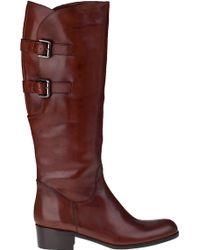 Sesto Meucci For Jildor Boomer Riding Boot Tiziano Rust Leather - Lyst
