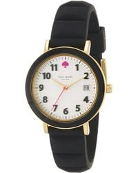Kate Spade Ladies Silicone Metro Watch - Lyst