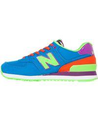 New Balance The 574 Pop Safari Sneaker - Lyst