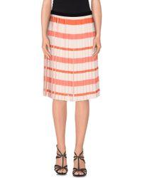Caractere | Knee Length Skirt | Lyst