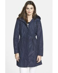 Rainforest - Packable Hooded Anorak, Blue - Lyst