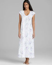 Carole Hochman - Hushed Violets Knit Long Nightgown - Lyst
