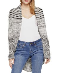Two By Vince Camuto - Marled Cocoon Cardigan - Lyst