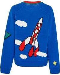 Mira Mikati Fly Jumper - Blue