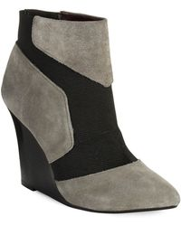 Report Signature Iliana Wedge Boots - Lyst